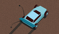 LowPoly Rracer Game